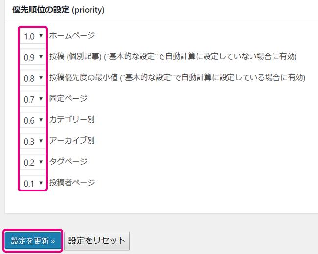 10XMLサイトマップ作成手順