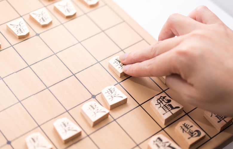将棋駒の並べ方と動かし方