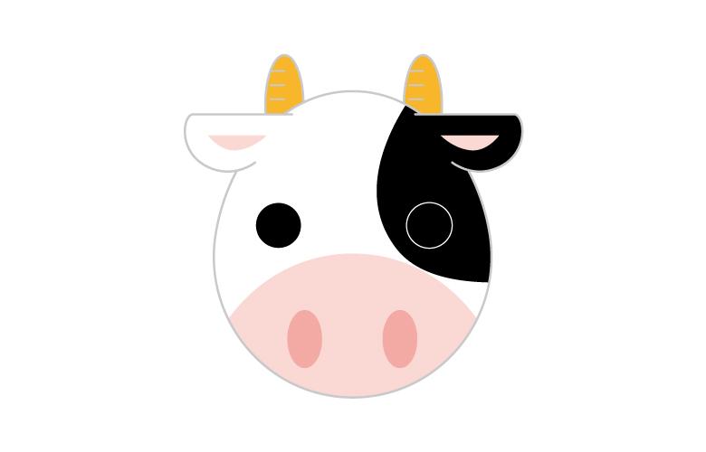 オセロの牛(うし)定石【四大定石】手順
