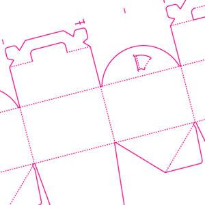 厚紙の箱と展開図【7つの超定番の形状!】