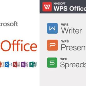 【WPS Office 2】と【Microsoft Office】の価格・アプリケーションを比較