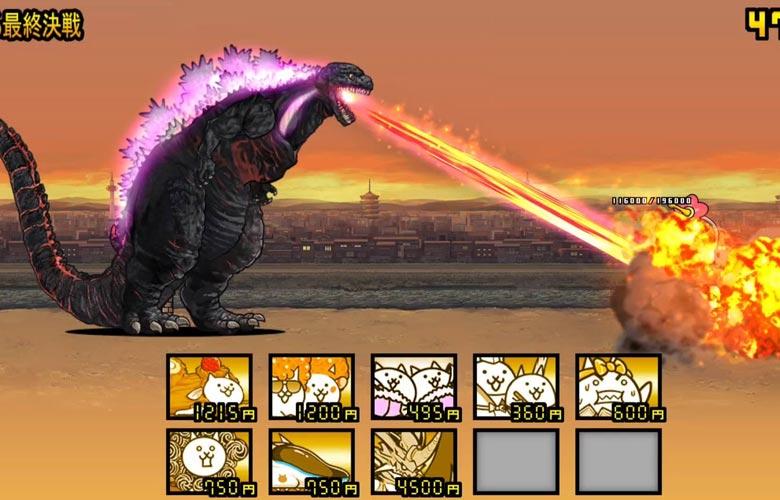 ネコによる最終決戦【ゴジラ対にゃんこ】攻略方法とステージ概要